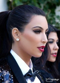 i'm obsessed with you, Kim. and this  makeup is so dang fierce I love it.