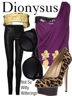 Fictional Fashion: Dionysus - Percy Jackson series... Looks like its party time. :D