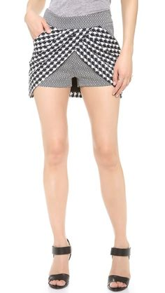 sass & bide Face in the Crowd Skort