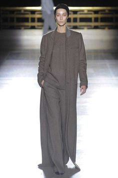 Lux casual at it's most spectacular.  Haider Ackermann Fall 2014 Ready-to-Wear Collection Slideshow on Style.com