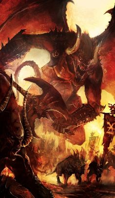 Demon, Fantasy creatures, art