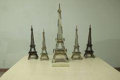 laser cutting Eiffel Tower