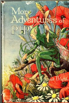 1948*1st ED* MORE ADVENTURES OF PIP - ENID BLYTON (HARDBACK WITH DUST JACKET)