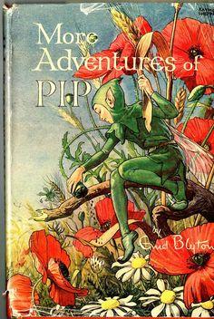 1948*1st ED* MORE ADVENTURES OF PIP - ENID BLYTON (HARDBACK WITH DUST JACKET)