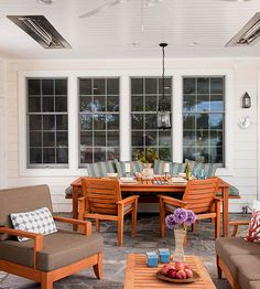 Learn how to make your porch more livable and convenient by budgeting for built-ins.