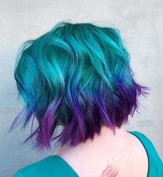 New hair goals color short Ideas Hair Goals Color, Bold Hair Color, Hair Colors, Dye My Hair, New Hair, Pelo Multicolor, Girl Haircuts, Hairstyles Haircuts, Crazy Hair