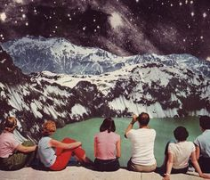 collages by Beth Hoeckel