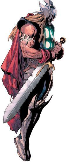 Avengers #31 - Thor by Leinil Yu *