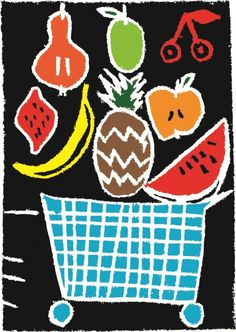 fruit is healthy Fruit, Healthy, Cards, Posters, Poster, Maps, Health, Playing Cards, Billboard