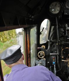 /by loose_grip_99 #flickr #steam #engine #cab #conductor