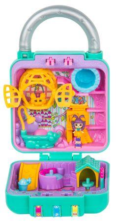 Shopkins Little Secrets Season 1 Mini Playset, Pretty Paws Pet Salon Toys For Girls, Kids Toys, Shopkins Happy Places, Shopkins And Shoppies, Secret Hiding Places, Cupcake Shops, Polly Pocket, Kits For Kids, Unicorn Birthday Parties