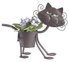 Cutest Animal Planters for Indoors and Outdoors | Home kitty cat