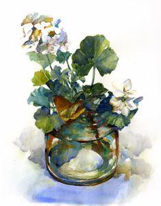 Helen Ström: Watercolor paintings