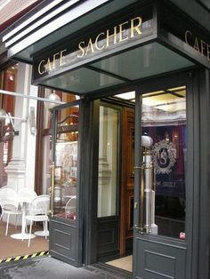 La Vie en Cerise-Hotel Sacher Wien One day I will visit and try real sachertorte