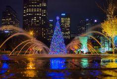 Klyde Warren Park Christmas
