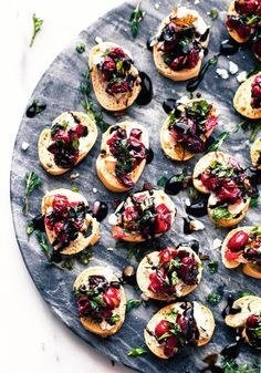Quick Cranberry Goat Cheese Crostini Recipe Gluten Free