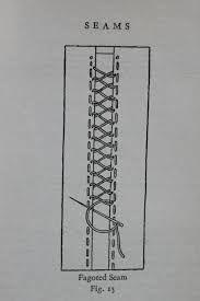 Resultado de imagem para heirloom tape stitching