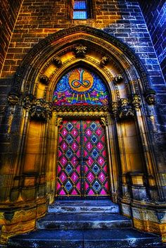Doors so extraordinary must surely lead to someplace equally magical