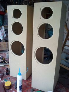 Fabricar bafles o parlantes torre desde cero - Taringa!