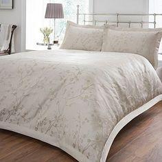 Cream 'Cherry Blossom Jacquard' bed linen - Duvet covers & pillow cases - Bedding - Home & furniture -