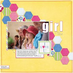 layout by Kimberley K. Supplies by Danielle Engebretson Designs