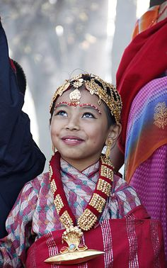 Newari costume - Nepal