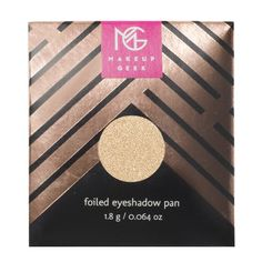 Makeup Geek Foiled Eyeshadow Pan in Starry Eyed #BBxMakeupGeek