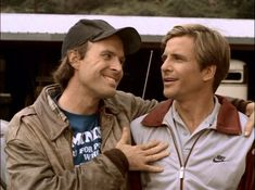 these two made the show awesome! Face A Team, Dwight Schultz, George Peppard, Paddy Kelly, Group Pictures, Tom Cruise, Geek Chic, Old Movies, Best Tv