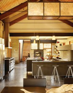 Jackson Wyoming - contemporary - kitchen - jackson - Magni Inc