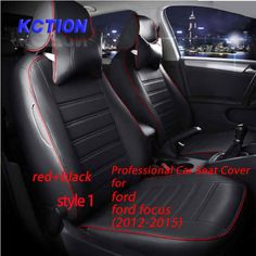 11 Colors Tailor-made Car Seat Cover for ford focus (2012-2015) Composite pu Car Styling Fully Enveloped accessories Protector #Affiliate