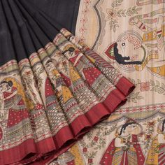 Buy Online Saris - one stop destination for shopping at Best Prices in India. Indian Silk Sarees, Tussar Silk Saree, Indian Beauty Saree, Cotton Saree, Indian Attire, Indian Wear, Indian Dresses, Indian Outfits, Kurta Designs