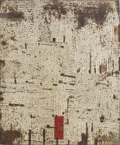 HAYASHI Takahiko #15 The Melting Chain-A Contemporary Privacy60.0 x 49.5cmcopperplate print with chine colle' (etching)