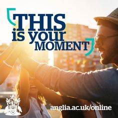 This is your moment, make it happen! Apply now and start studying with us in September!