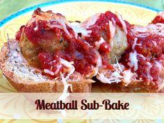 Meatball Sub-Bake