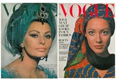 prettynyummy, vogue, vogue covers, 60s, vogue archive