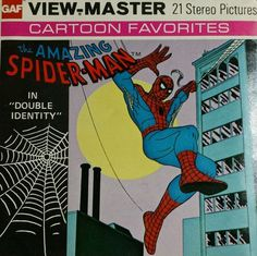 The Amazing Spiderman Childhood Toys, Childhood Memories, View Master, Amazing Spiderman, Cartoon Tv, Disney Cartoons, Old Toys, Vintage Toys, Pop Culture