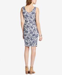 Jessica Simpson Maternity Sheath Dress - FLORAL PRINT M
