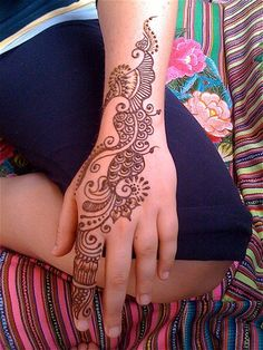 Arabic Henna Patterns for Hands