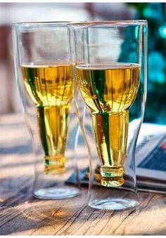A Bottoms Up Glass 0,35L glass med dobbel vegg