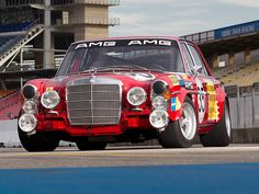AMG Mercedes-Benz 300SEL 6.3 Race Car