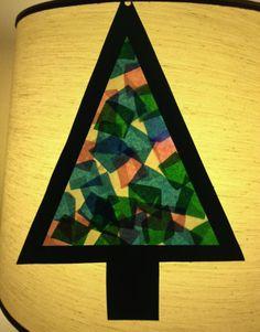 Cartoncino, carta acetata trasparente e carta velina colorata.