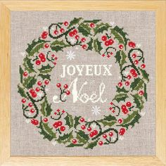 Noel 2010 – French Needlework Kits, Cross Stitch, Embroidery, Sophie Digard – The French Needle