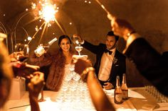 Chanel Dror and Eric Tarlo's Wedding in the Loire Valley, France.