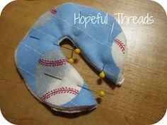 Hopeful Threads: G-tube Button Pads Tutorial