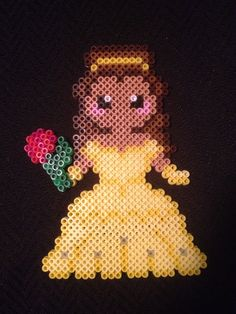 Beauty and the Beast Belle Perler beads by Fairie Sprite Shoppe