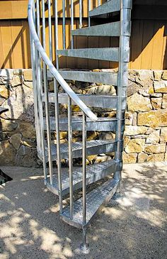 Exterior Spiral Staircases | Salter Spiral Stair