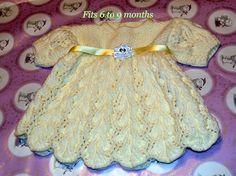 Yellow Beautiful Baby Dress