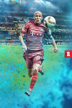 Robben será uno de los que aporte el talento en Bayern Munich