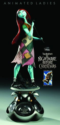 Disney Animated Ladies Nightmare Before Christmas Sally Statue - Digitally Sculpted and Awesome