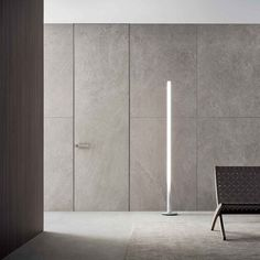 Moon the coplanar door of the Rimadesio collection. A project that realizes the total integration between doors and walls, between furniture elements and interior architecture. Double Swing, Interior Architecture, Interior Design, Flush Doors, Panel Doors, Magazine Design, Sliding Doors, Glass Door, New Homes